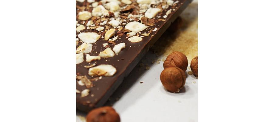 Шоколад Белоусов горький с лесным орехом— 72% Кот-д'Ивуар